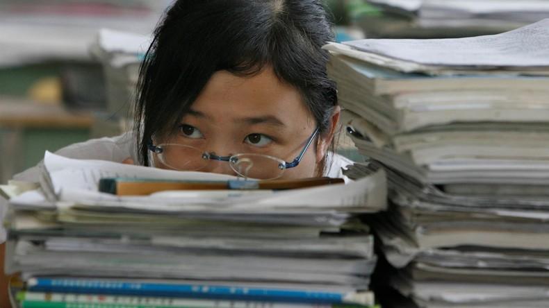 China: Unlösbare Prüfungsfrage hinterlässt verblüffte Schüler