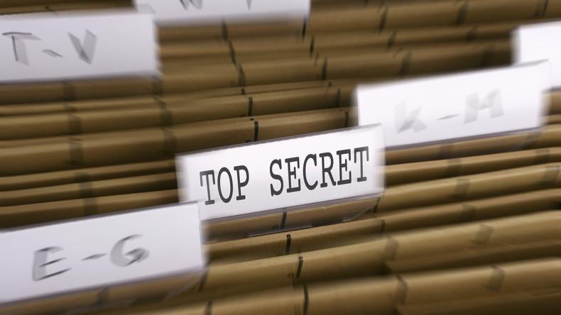 Geheime Regierungspapiere in Australien versehentlich versteigert