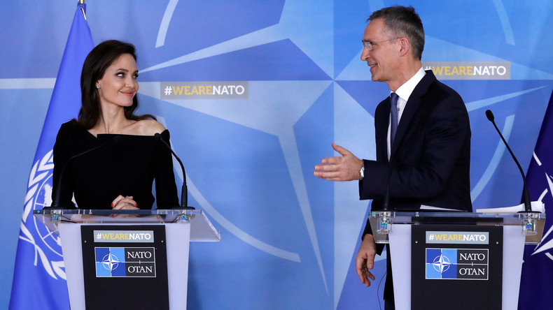 Angelina Jolie und NATO gehen gemeinsam gegen sexuelle Gewalt vor