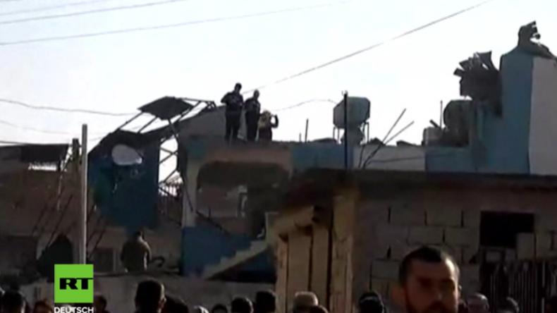 Geschosse aus Syrien sollen in Türkei eingeschlagen sein - stetig mehr Opfer und Zerstörung um Afrin