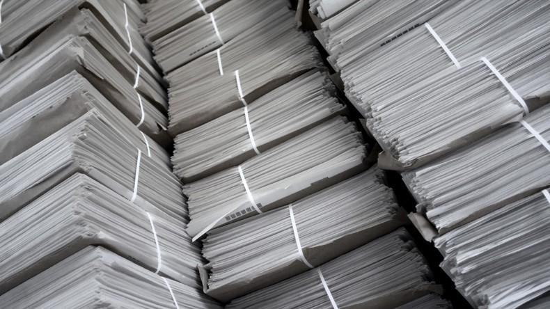 Streng geheime Regierungsdokumente im Secondhandladen in Australien entdeckt