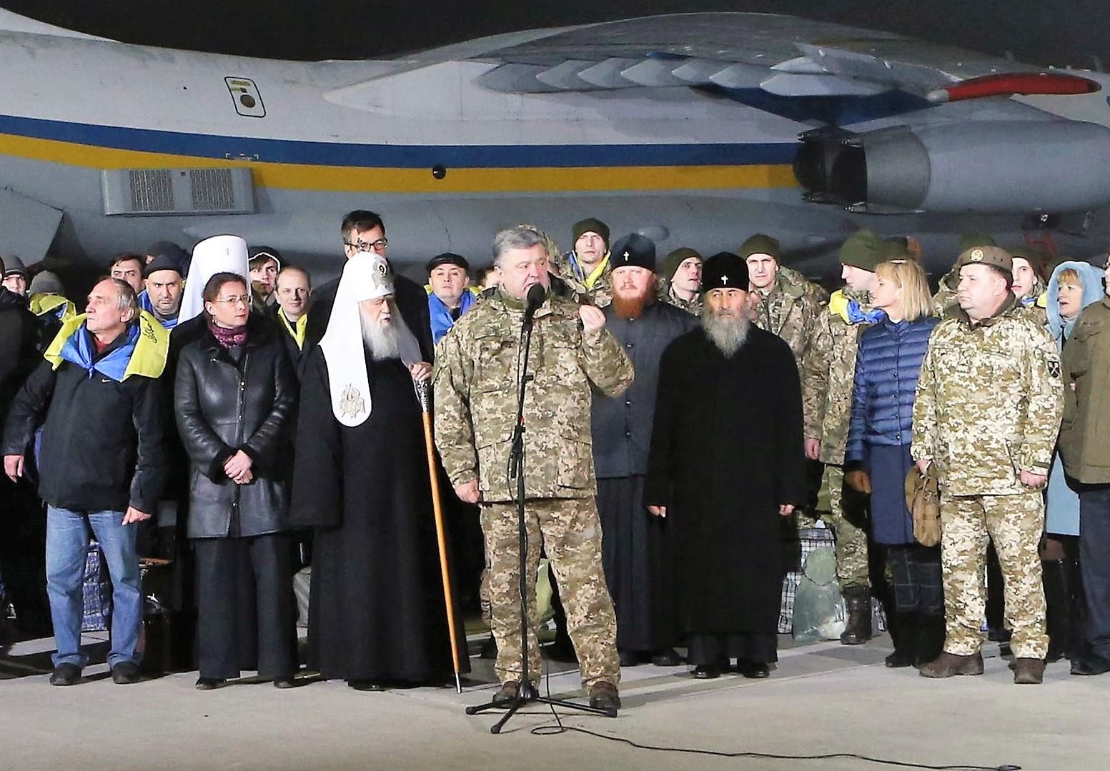 Gefangenenaustausch im deutschen Fernsehen: Propaganda für Merkel - Show für Poroschenko