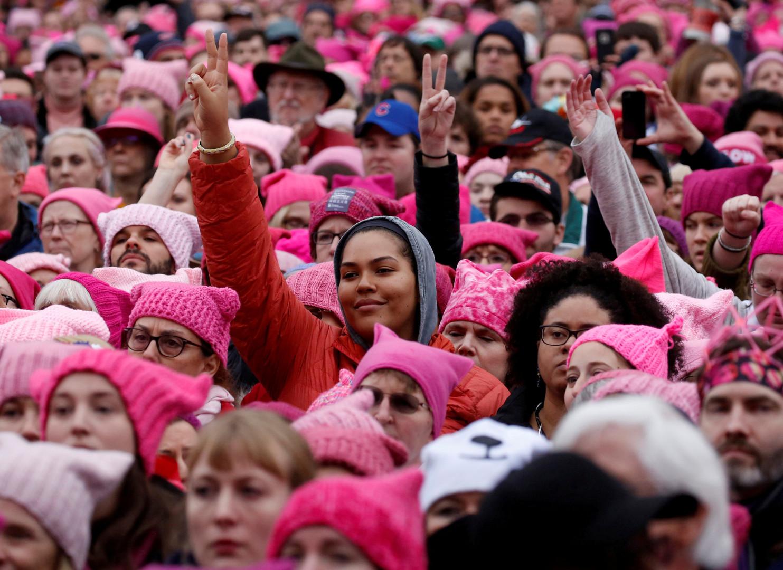 Protest der Frauen in Washington, USA, 21. Januar 2017.