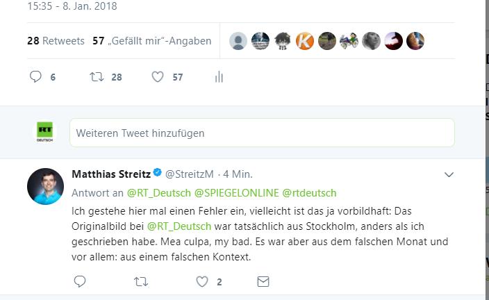 Eigentor des Tages: Chefredaktion von Spiegel Online will RT Deutsch trollen und blamiert sich