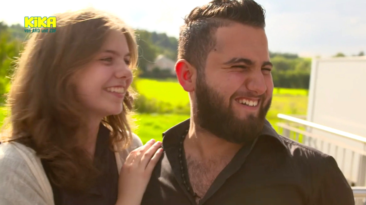 """""""Schau in meine Welt"""" - KiKA dokumentiert Beziehung minderjähriger Deutscher mit volljährigem Syrer"""