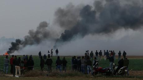Israels Luftwaffe beschießt nach Raketenangriff Hamas-Ziel (Archivbild)