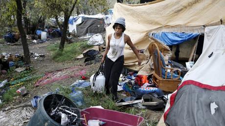 In 2014 räumte die Polizei in San José den sogenannten