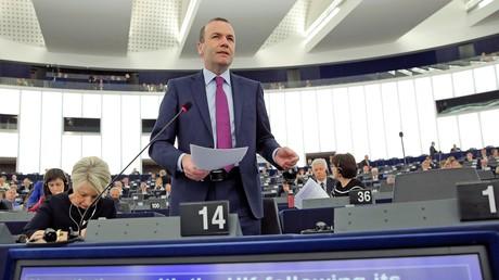 Manfred Weber (CSU) ist der Vorsitzende der Europäischen Volkspartei (EPP) im EU-Parlament.