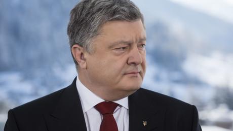 Der ukrainische Präsident wird nicht müde, sich in der Öffentlichkeit immer wieder aufs Neue von Russland zu verabschieden.
