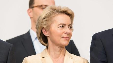 Verteidigungsministerin von der Leyen besucht Bundeswehr-Soldaten in Jordanien