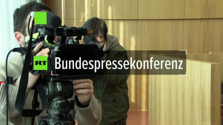 Regierungskonferenz vom 15. Januar 2018 in Berlin