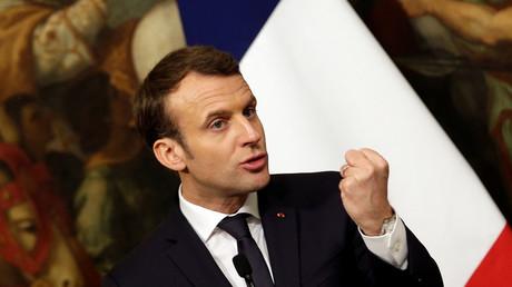 Fährt einen strikteren Kurs in der Flüchtlingspolitik: Der französische Präsident Emmanuel Macron.
