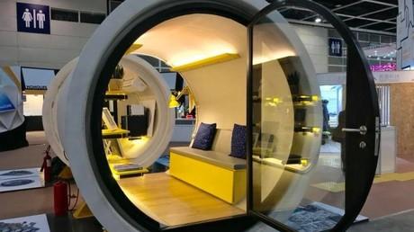 Architekt aus Hong Kong will Wohnungen in Wasserrohren einrichten