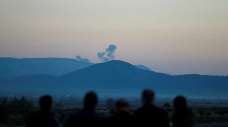 Rauchschwaden über Afrin...