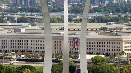 Blick auf das Pentagon vom