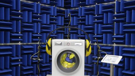 Waschmaschine auf dem Bosch-Stand der IFA, Berlin, Deutschland, 5. September 2013.