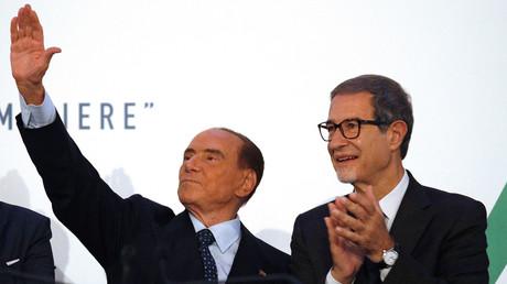 Der 81-jährige ehemalige italienische Premierminister Silvio Berlusconi: Vom EU-Buhmann zum EU-Messias...