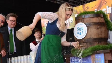 Netter Versuch: Erster Mann bewirbt sich um Titel der Bayerischen Bierkönigin  (Symbolbild)