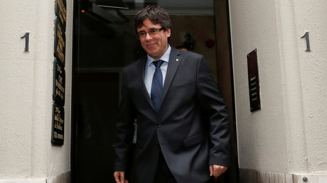 Weilt immer noch in Brüssel: Der abgesetzte katalanische Regierungschef Carles Puigdemont.