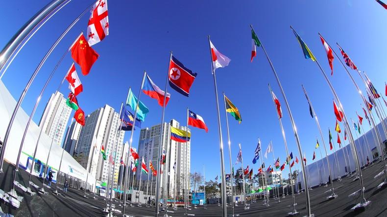 Olympisches Dorf in Pyeongchang offiziell eingeweiht