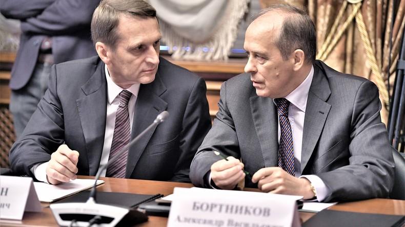 Neuer Sturm im Russiagate-Wasserglas: Chef der russischen Außenaufklärung weilte in Washington