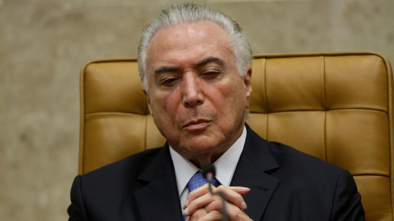 Keine Rente für Temer: Behörde hält Präsidenten Brasiliens für tot und stoppt Auszahlung