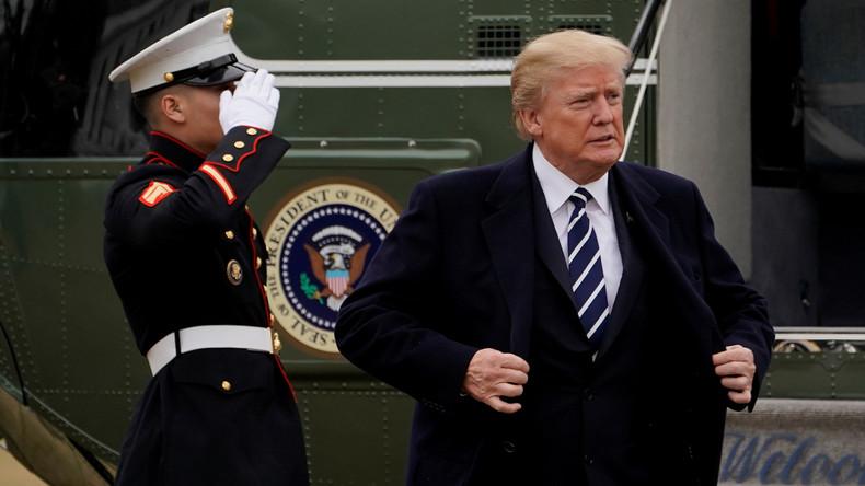 US-Präsident Trump gibt brisantes Memo frei- FBI bespitzelte Berater des Präsidenten