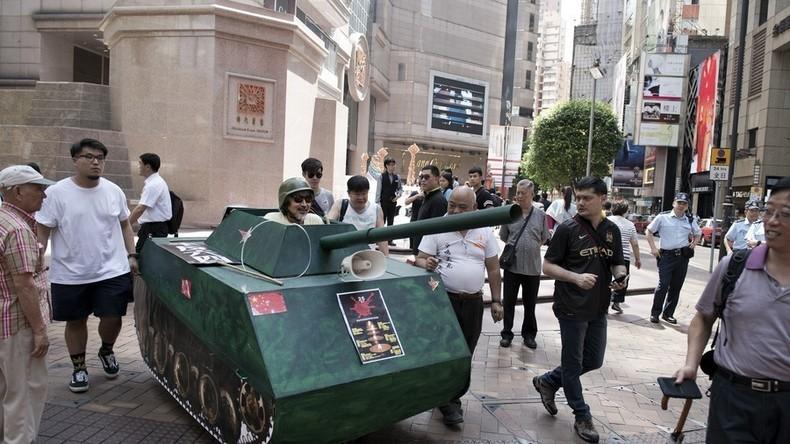 Alles für nichts: Chinese baut DIY-Panzer, der sofort von Polizei beschlagnahmt wird