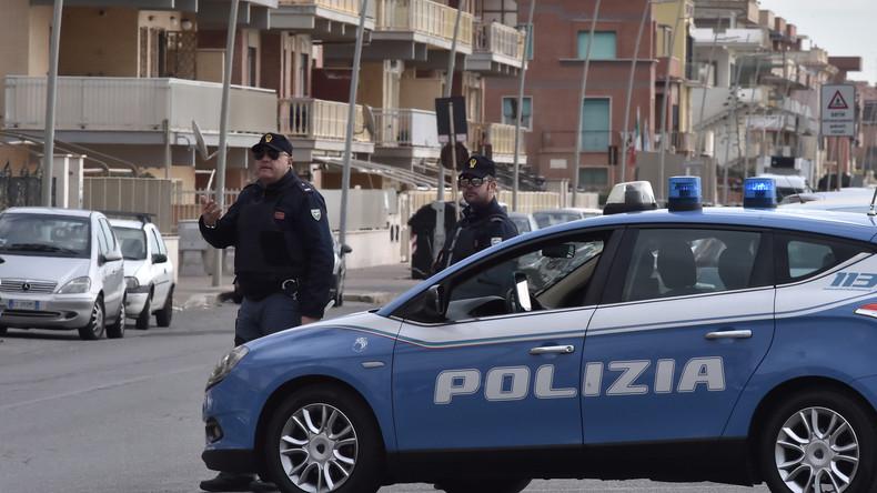 Drive-by-Shooting in Italien - mindestens sieben Verletzte