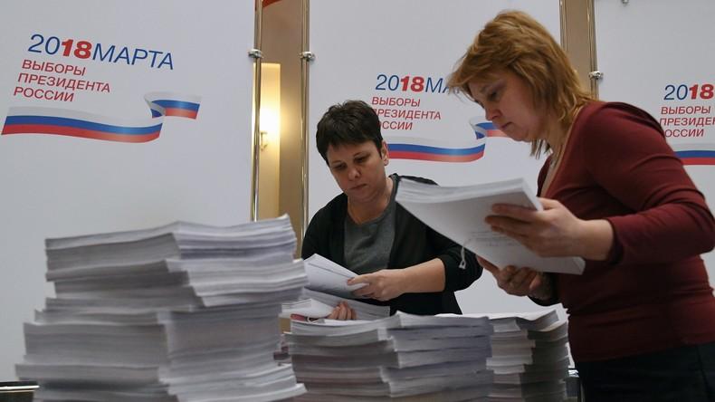 Chefin der russischen Wahlkommission: Nicht mehr als acht Kandidaten bei Wahlen in 2018 erwartet