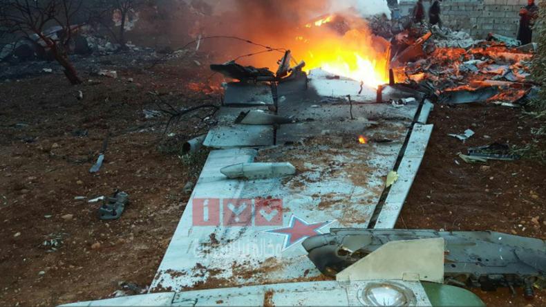 Rebellen in Syrien schießen russisches Flugzeug ab