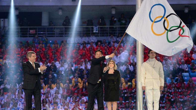 Russland ohne eigenen Fahnenträger bei Olympia in Pyeongchang