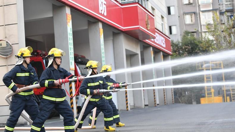Explosion in chinesischer Feuerwerksfabrik