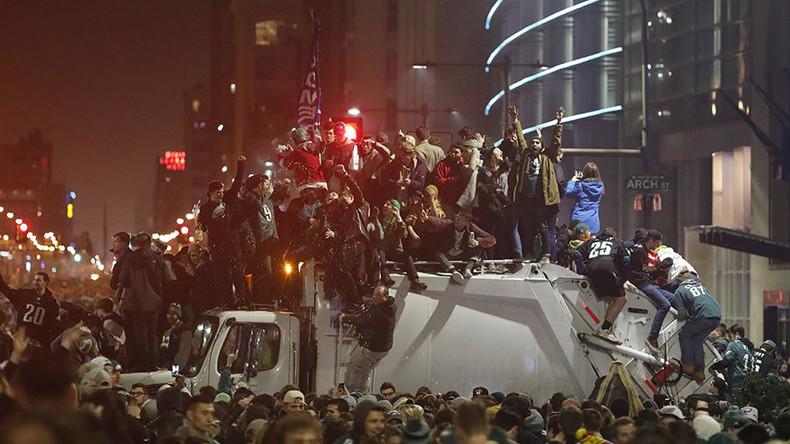 Philadelphia: Verwüstungen auf den Straßen nach historischem Super-Bowl-Sieg