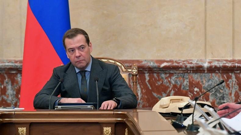 Medwedew: IOC will Russland politischen Schaden zufügen