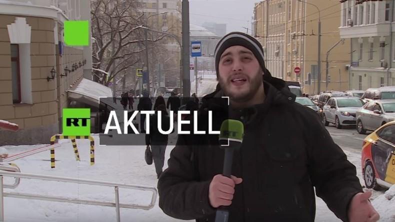 Jahrhundert-Schneefall in Moskau: Autofahrer fluchen, Kinder frohlocken [Video]