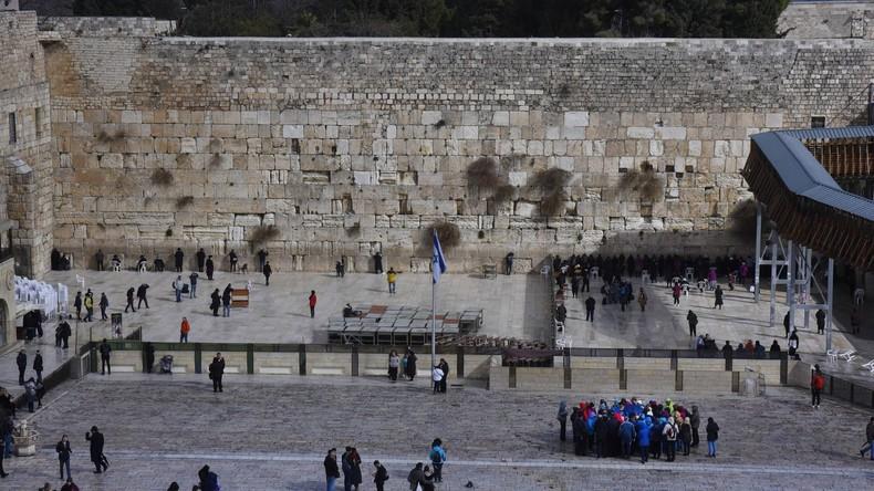 Israel baut gemischten Gebetsbereich an der Klagemauer