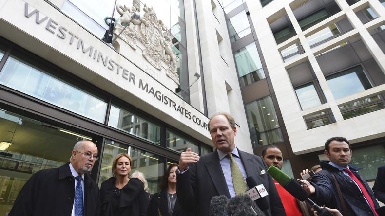 LIVE: Britisches Gericht verhandelt Revision von Assanges Haftbefehl