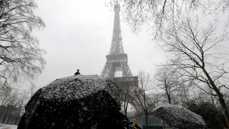 Schlechte Nachrichten für Touristen: Paris macht Eiffelturm wegen Winterwetters dicht