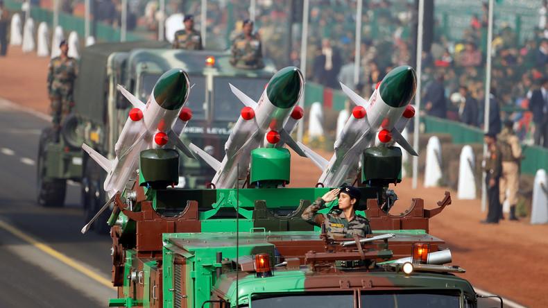 Indien testet erfolgreich Kurzstreckenrakete mit nuklearen Fähigkeiten