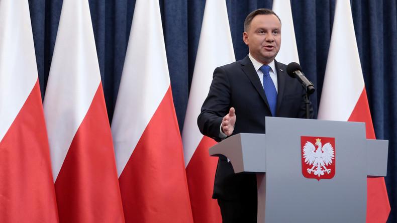 """Polens Präsident Duda unterschreibt umstrittenes """"Holocaust-Gesetz"""""""