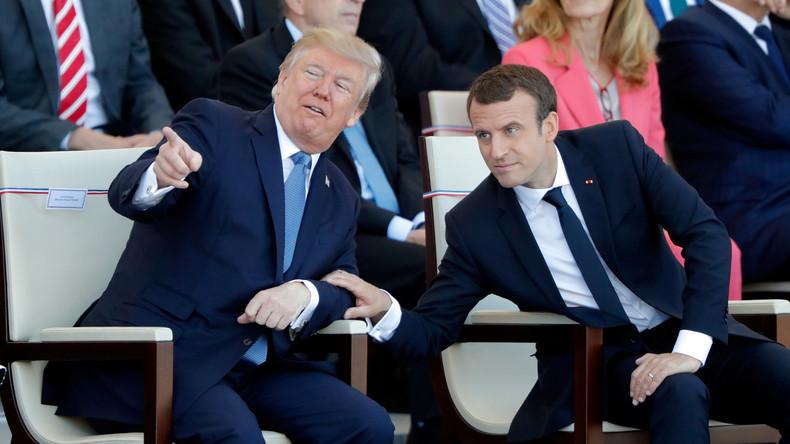 Trump fordert Militärparade nach französischem Vorbild mit Panzern und schwerem Geschütz