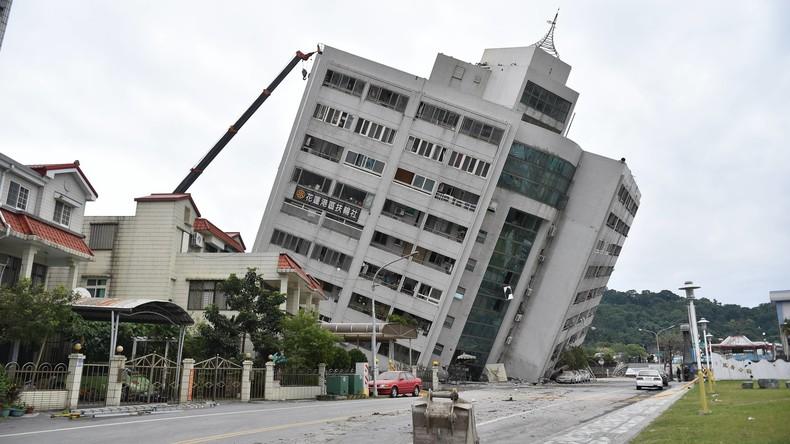Erdbeben in Taiwan: Vier Tote und über 200 Verletzte