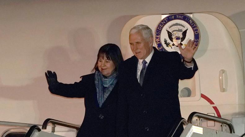 US-Vize reist in intriganter Mission zur den olympischen Winterspielen in Südkorea [Video]