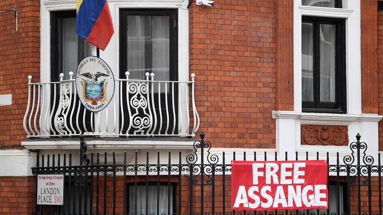 Verdächtiges Paket mit Drohung an Julian Assange geliefert