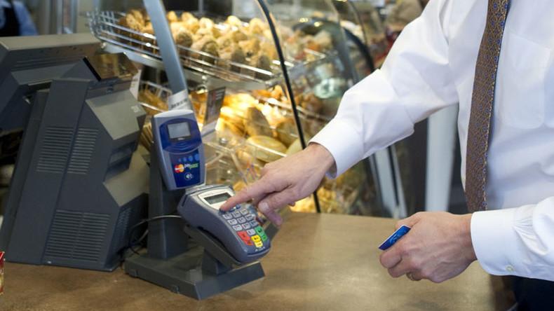 Russische Großbank testet Barabhebung an Supermarktkasse