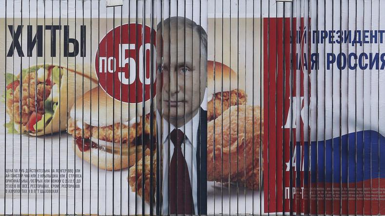 Mehr Russen sind von der Einmischung der USA in ihre Wahlen überzeugt als umgekehrt
