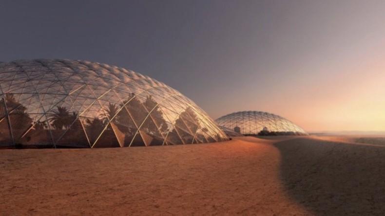Packt die Koffer: VAE errichten eigene Mars-Simulation auf der Erde