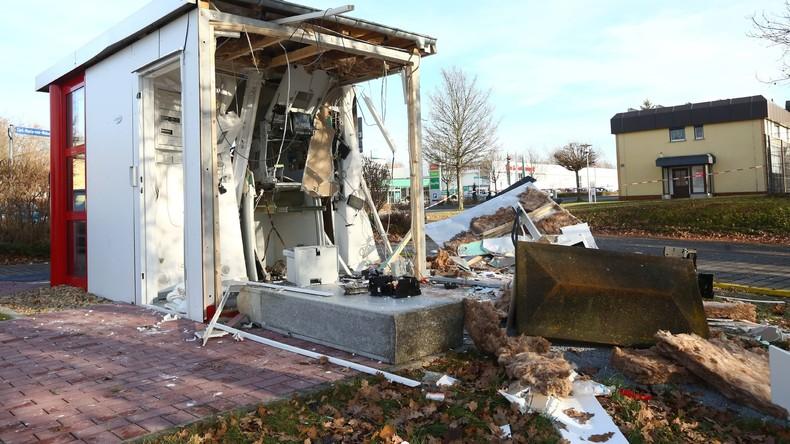 Sprengung von Geldautomaten aufgeklärt: Zwei Banden aufgeflogen