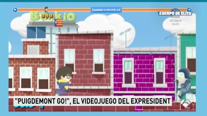 In Spanien erscheint Handyspiel Puigdemont Go